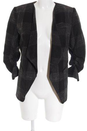 H&M Kurz-Blazer schwarz-weiß Business-Look