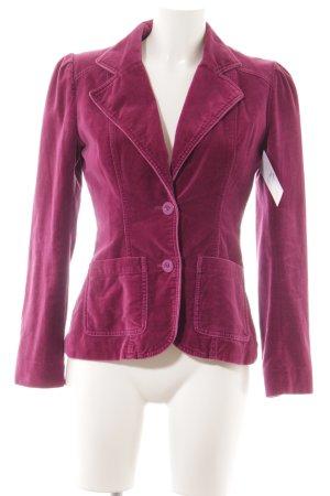 H&M Kurz-Blazer violett Casual-Look