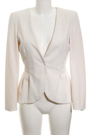 H&M Blazer corto blanco puro estilo «business»