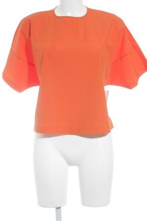 H&M Kurzarm-Bluse dunkelorange Street-Fashion-Look