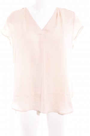 H&M Kurzarm-Bluse nude Casual-Look