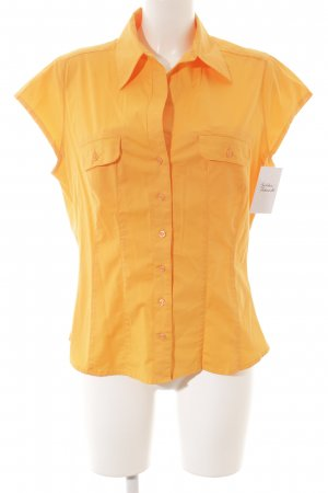 H&M Kurzarm-Bluse orange Casual-Look