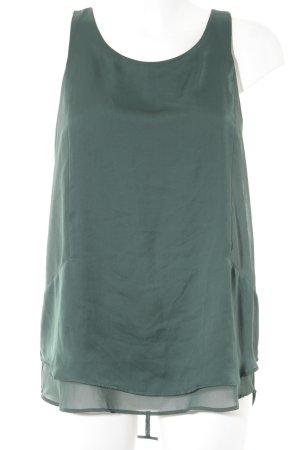 H&M Kurzarm-Bluse waldgrün Elegant