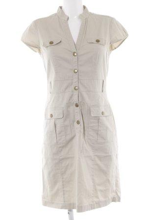 H&M Vestido de manga corta beige look casual
