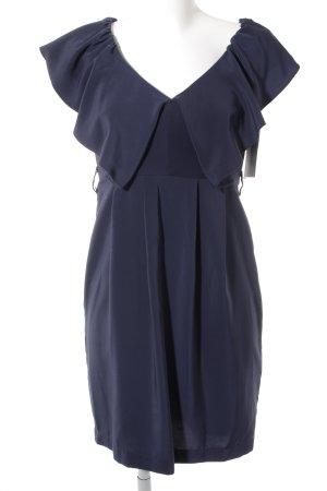 H&M Robe à manches courtes bleu foncé style décontracté