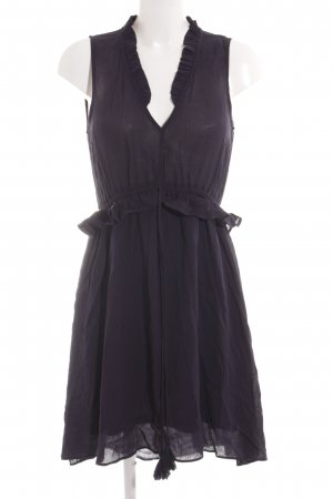 H&M Kurzarmkleid dunkelblau Casual-Look