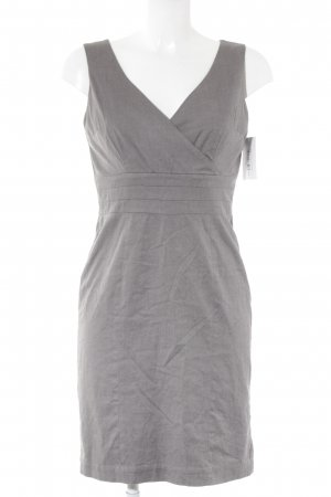 H&M Kurzarmkleid grau Elegant