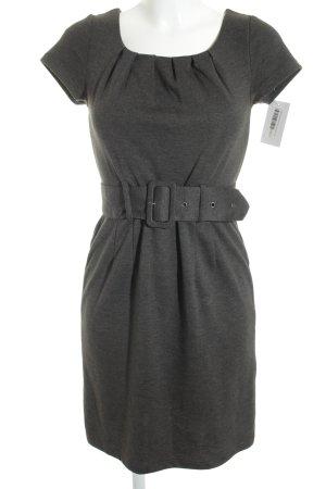 H&M Kurzarmkleid grau schlichter Stil