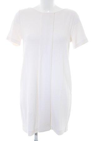 H&M Robe à manches courtes beige clair élégant