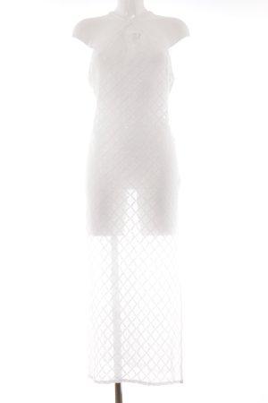 H&M Kurzarmkleid magenta Romantik-Look