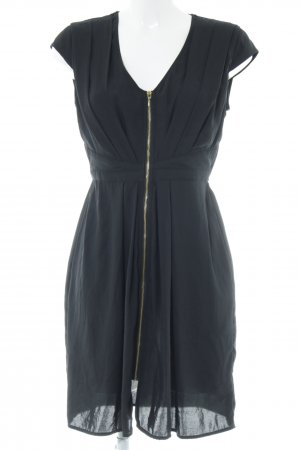 H&M Kurzarmkleid neonblau Elegant