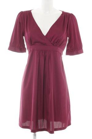H&M Kurzarmkleid purpur Elegant