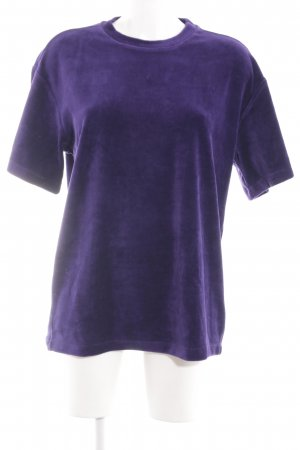 H&M Short Sleeve Sweater lilac casual look