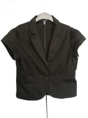Hennes Collection by H&M Blazer corto nero Cotone