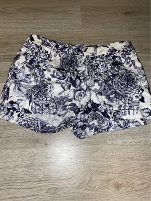 H&M Short moulant bleu foncé coton