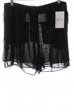H&M Kurze Hose schwarz klassischer Stil