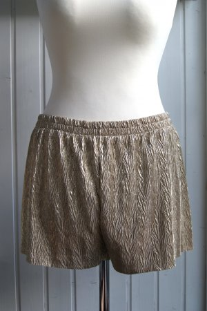 H&M Hot pants oro-argento