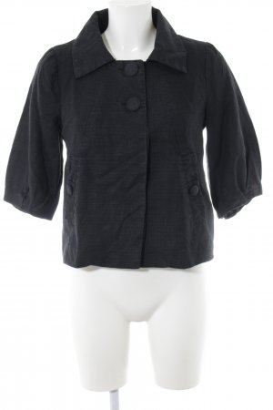 H&M Kurzjacke schwarz Casual-Look