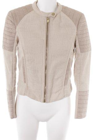 H&M Kurzjacke creme-beige Casual-Look