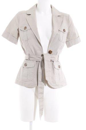 H&M Giacca corta crema motivo trapuntato Stile anni '40