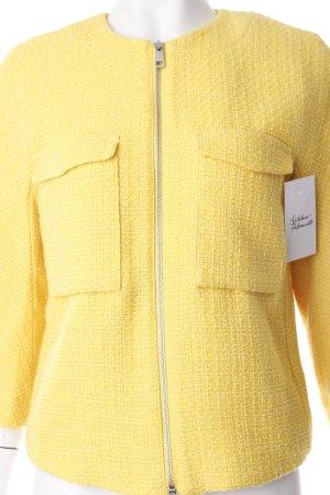 H&M Kurzjacke gelb klassischer Stil