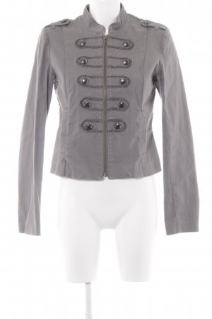 H&M Kurzjacke graubraun extravaganter Stil