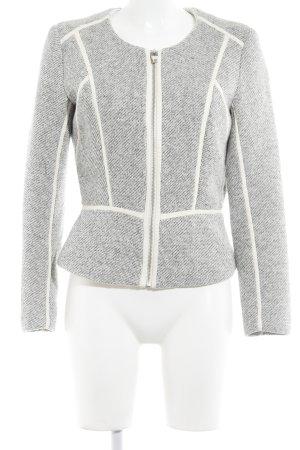 H&M Kurzjacke hellbeige-schwarz meliert Casual-Look