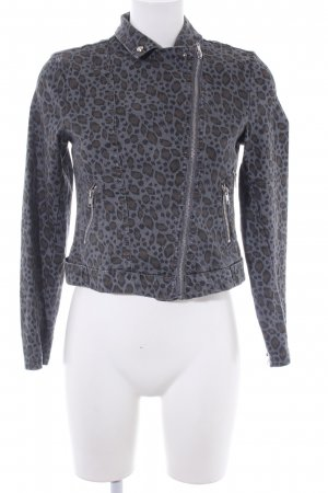H&M Kurzjacke Leomuster Casual-Look