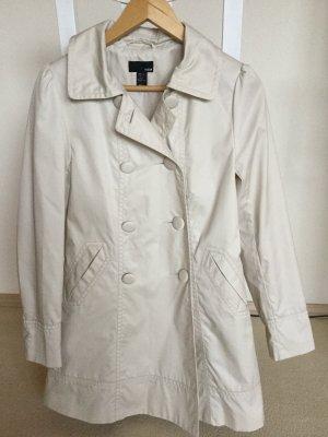 H&M Manteau court beige clair