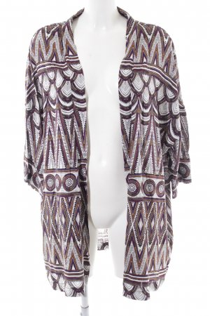 H&M Kurzmantel abstraktes Muster Elegant