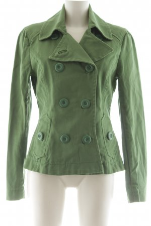 H&M Kurzmantel grün Business-Look