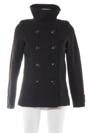 H&M Manteau court noir style décontracté