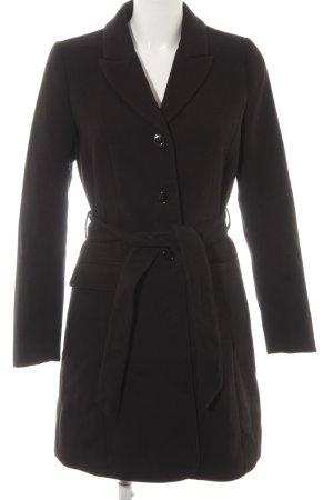 H&M Kurzmantel schwarz klassischer Stil