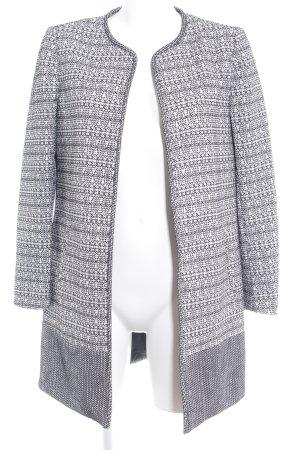 H&M Kurzmantel schwarz-weiß Casual-Look