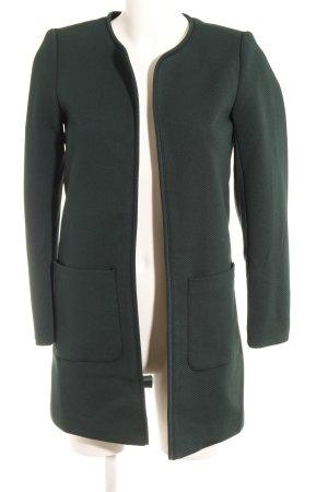 H&M Kurzmantel waldgrün schlichter Stil