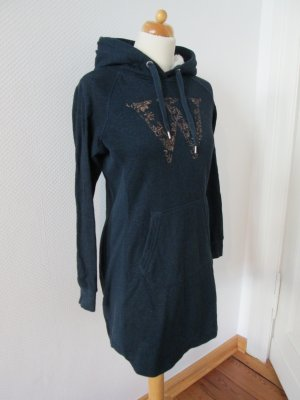 H&M L.O.G.G. Hooded Dress multicolored