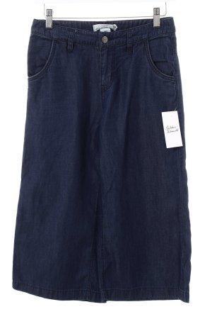 H&M L.O.G.G. 3/4-Hose blau Jeans-Optik