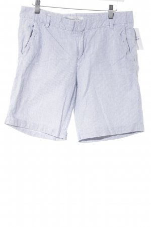 H&M L.O.G.G. Bermuda blauw-wit gestreept patroon casual uitstraling