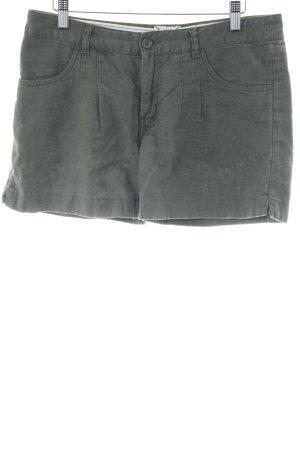 H&M L.O.G.G. Bermuda khaki-olivgrün Casual-Look