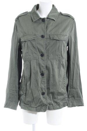 H&M L.O.G.G. Blusenjacke khaki Casual-Look