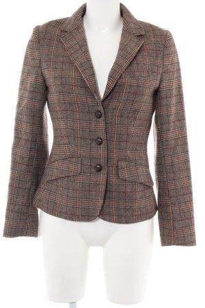 H&M L.O.G.G. Boyfriend Blazer brown check pattern business style