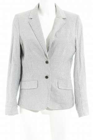 H&M L.O.G.G. Boyfriend Blazer white-dark blue striped pattern elegant