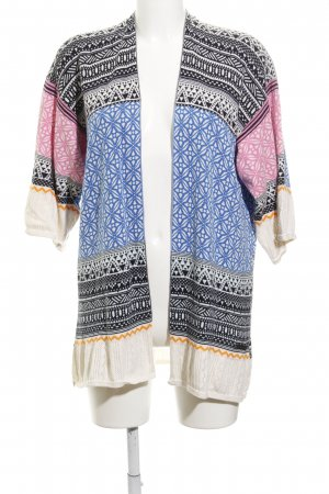 H&M L.O.G.G. Cardigan abstraktes Muster Beach-Look