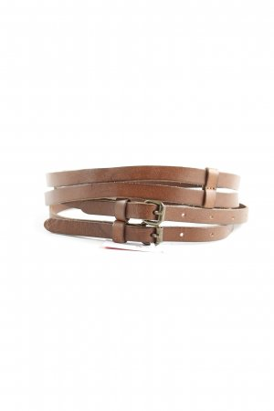 H&M L.O.G.G. Double Belt brown casual look