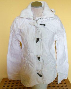 H&M L.O.G.G. Dufflecoat Jacke weiß Größe 38