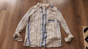 H&M L.O.G.G. Hemd Bluse Hemdbluse Streifen Baumwolle