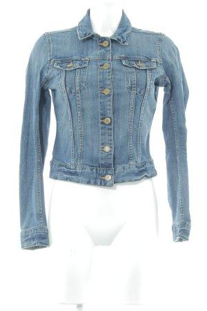 H&M L.O.G.G. Jeansjacke himmelblau-stahlblau Casual-Look