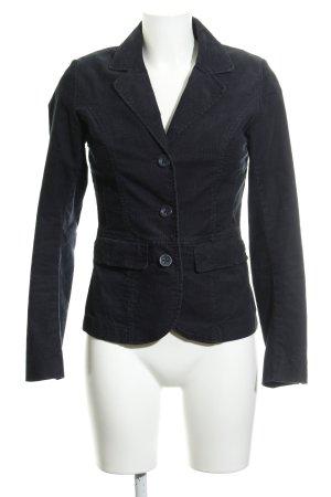 H&M L.O.G.G. Jersey Blazer azul oscuro estilo «business»