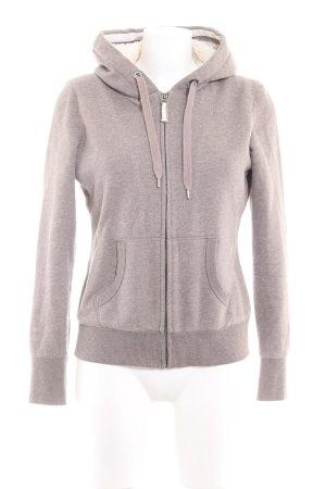 H&M L.O.G.G. Giacca con cappuccio marrone-grigio stile casual