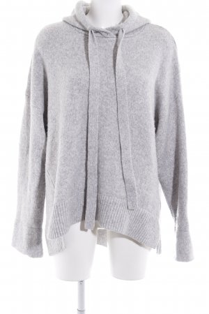 H&M L.O.G.G. Capuchon sweater grijs casual uitstraling